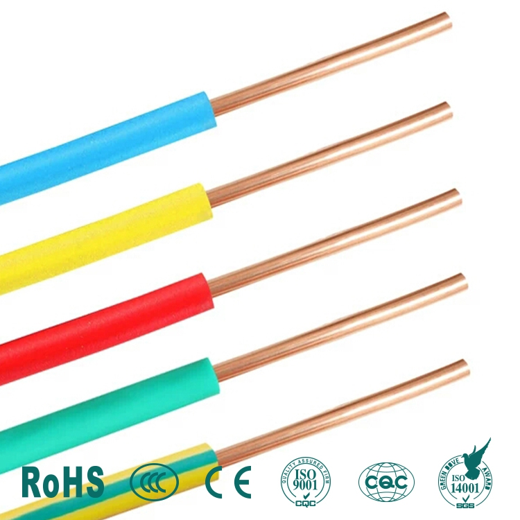 Single Core SOLID Electrical Cable Copper Wire Wiring Conduit Length ...